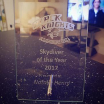 skydiver of the year